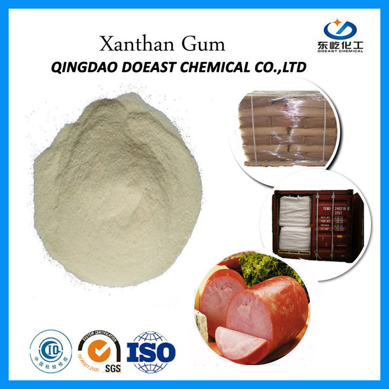 High Molecular Weight Xanthan Gum Food Additive White Color EINECS 234-394-2