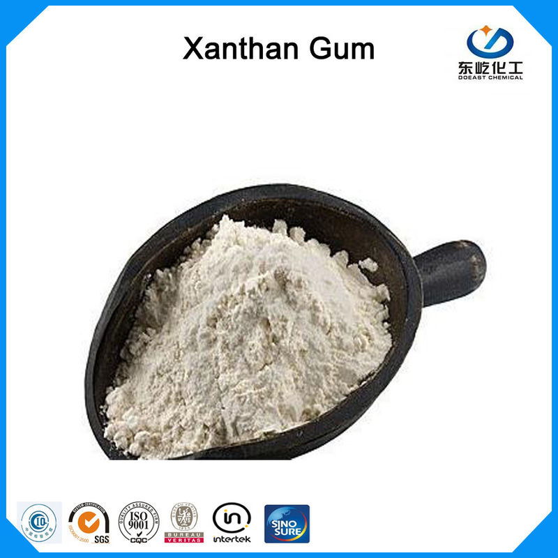 Water Soluble Xanthan Gum Food Grade 200 Mesh White Powder For Dairy Produce